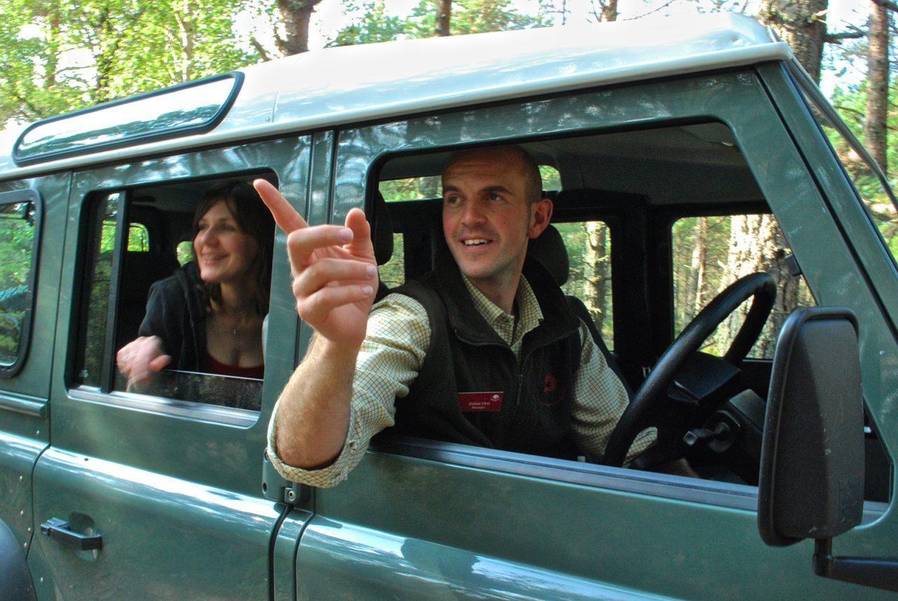 Rothiemurchus Ranger Service, Land Rover Experience Tour