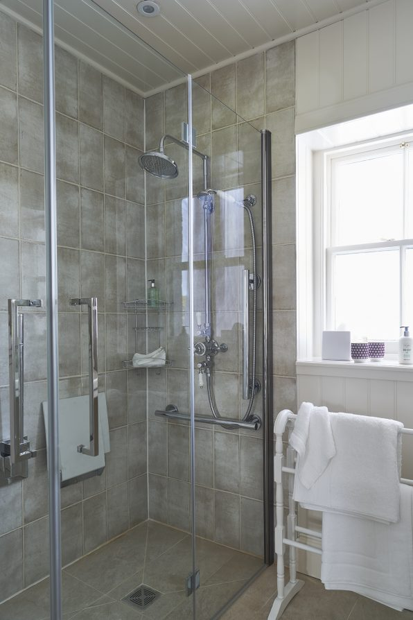 Accessible wheelchair friendly wet room