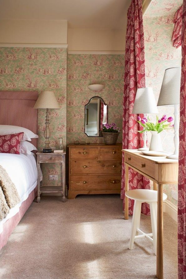 Our wheelchair accessible bedroom at The Boathouse Rothiemurchus near Aviemore